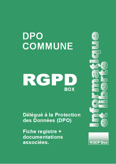 Contrat DPO Commune RGPDBox