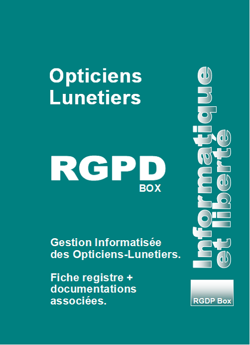 RGPD Opticiens-Lunetiers